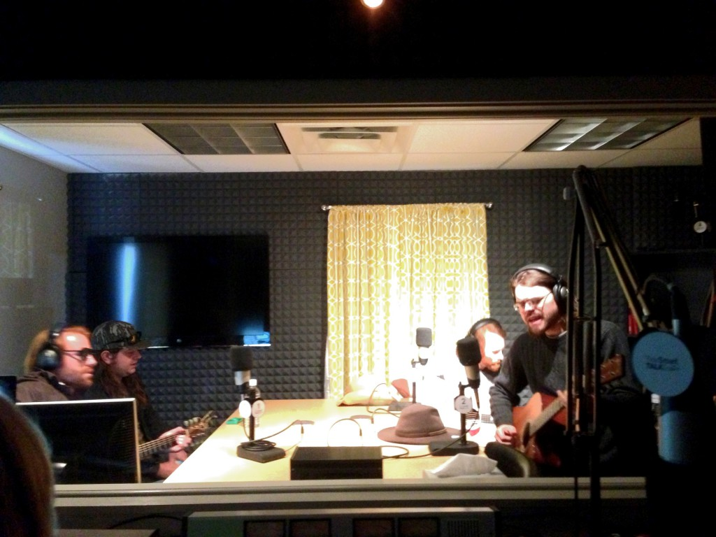 The Mallett Brothers Band joined Stevoe in the studio