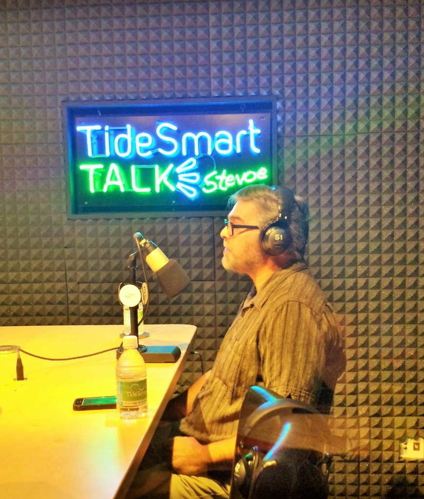 Host of TideSmart Talk with Stevoe, Steve Woods, welcomed Director of the Maine Chapter of the Sierra Club, Glen Brand.